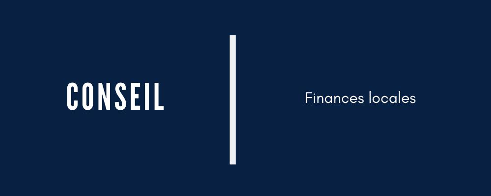 conseil financier Stratégies Locales
