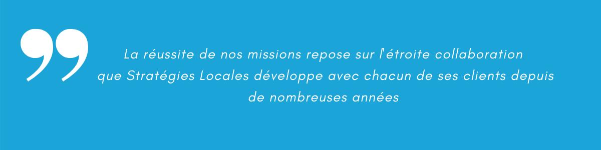 citation Stratégies Locales
